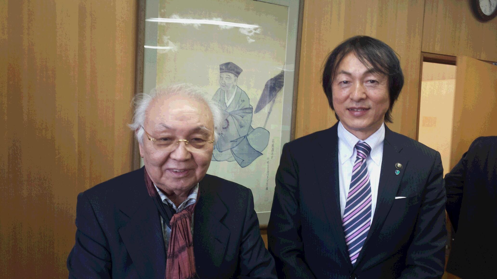 中島貞夫監督が伊賀市に来られま...